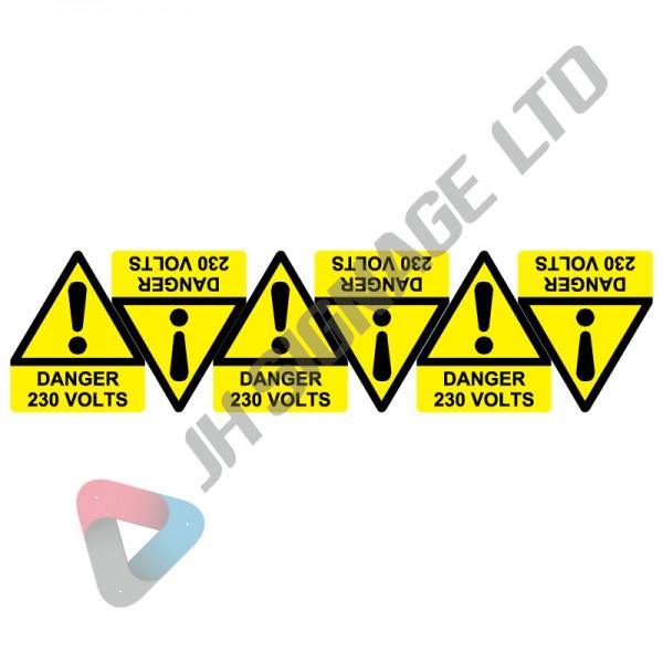 Danger-230-Volts_50x60_6Pack