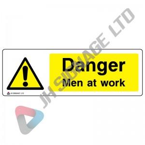 Danger-Men-At-Work_600x200mm