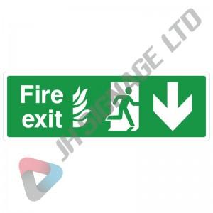 Fire-Exit-Down-Arrow_300x100
