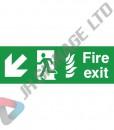 Fire-Exit-Down_Left_300x100