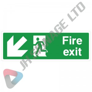 Fire-Exit-With-Flame-Down_Left_300x100