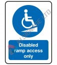 Disabled-Ramp-Access-Only_150x200