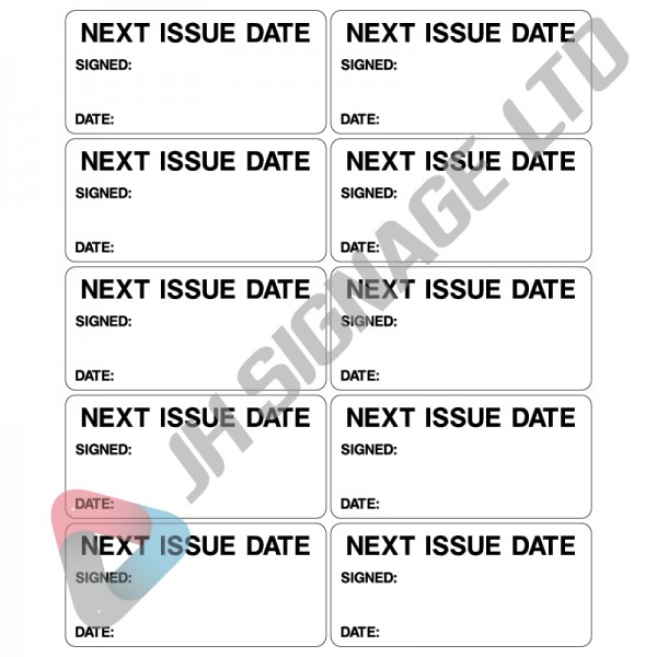 Next Issue date