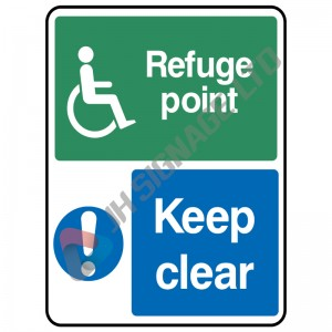 Refuge-Point-Keep-Clear_150x200mm